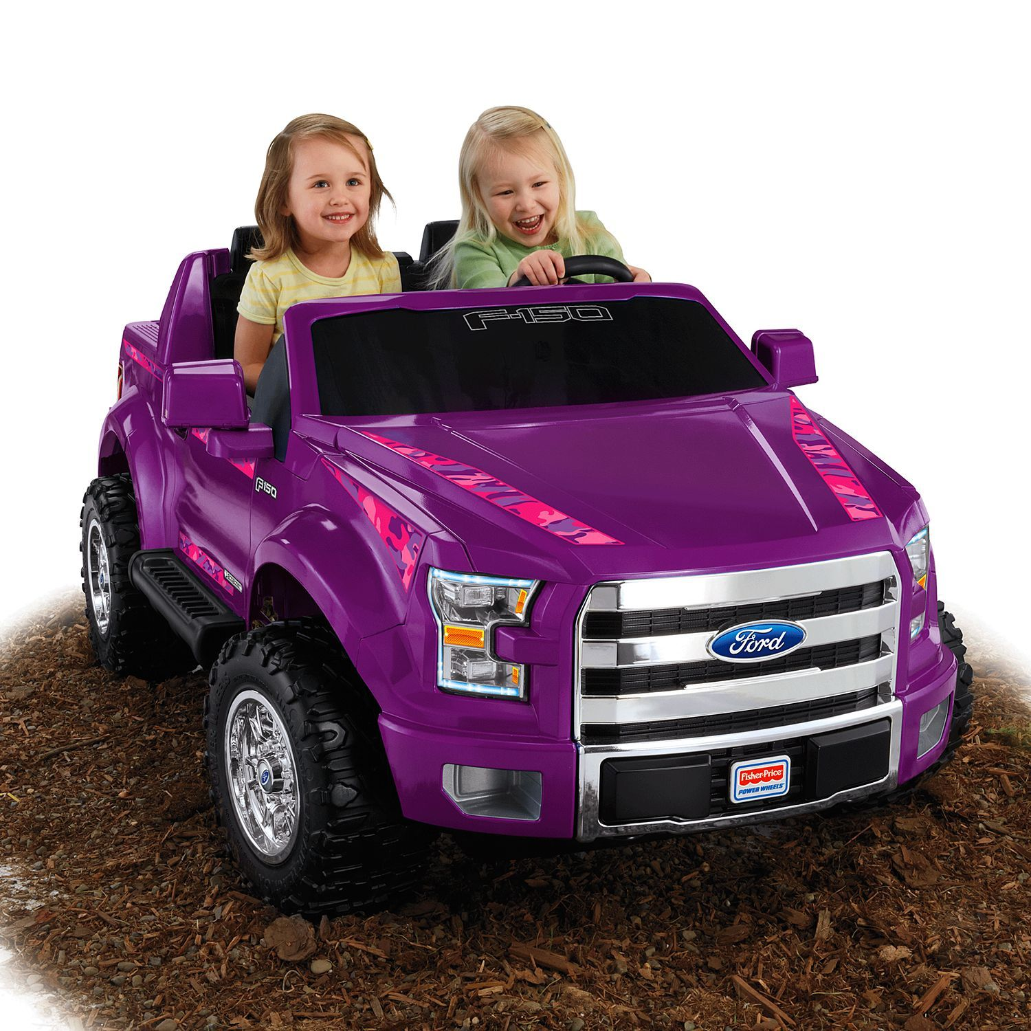 Image For Power Wheels Ford F 150 Purple Camo From Mattel Power