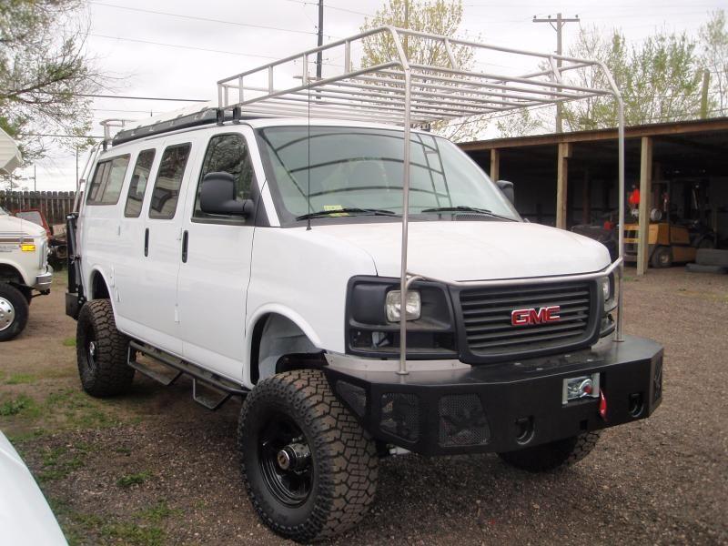 Boulder Offroad 4x4 Van Custom Conversions Racks And Carrierswe