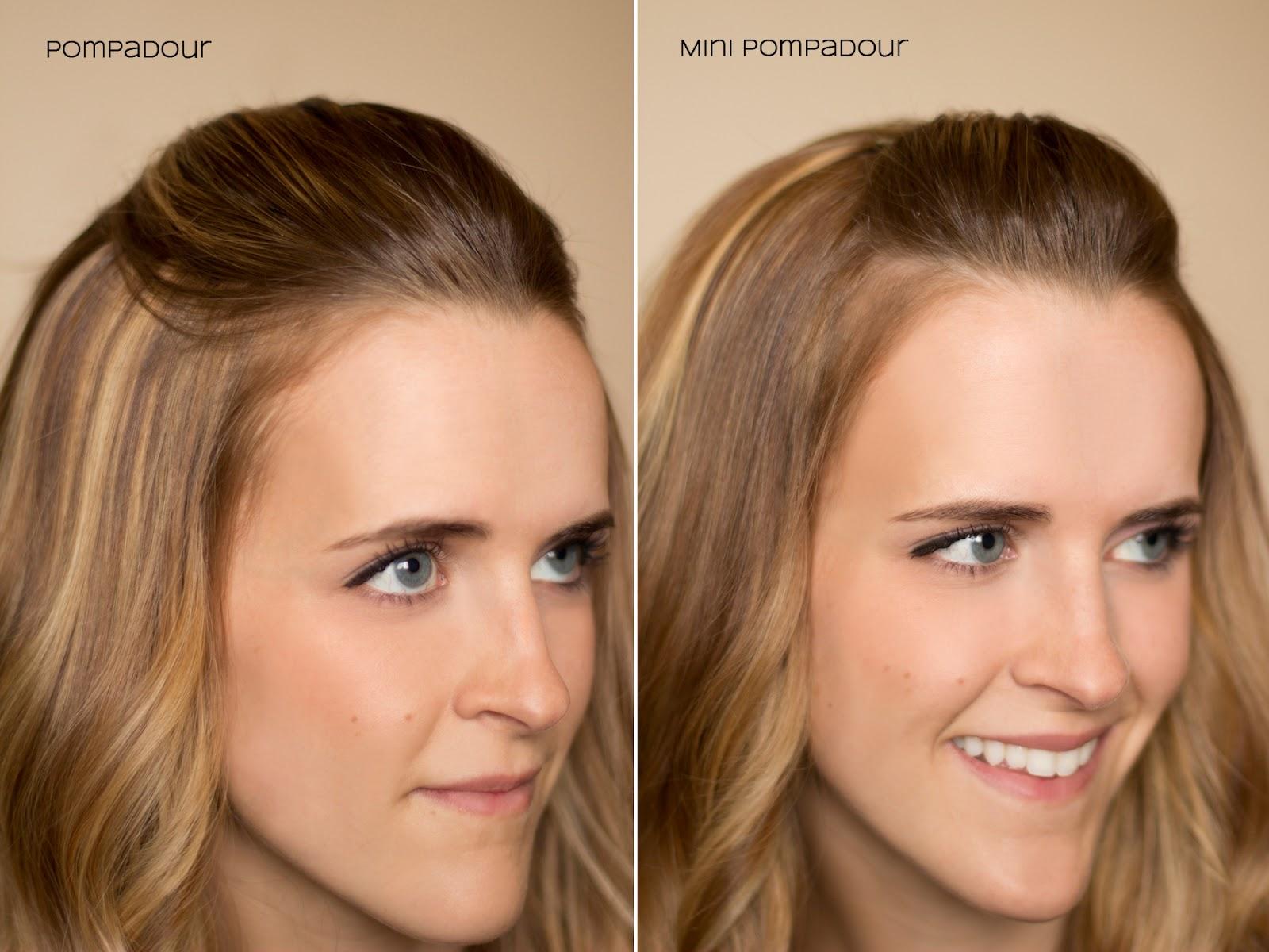 fifteen ways to pin back your bangs | hair & makeup | hair