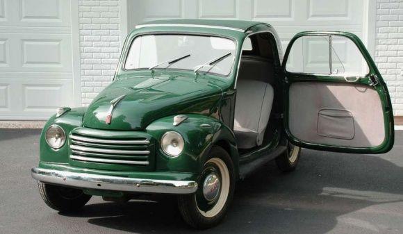 1951 Fiat Topolino 500c For Sale Front ™�car♡ Pinterest