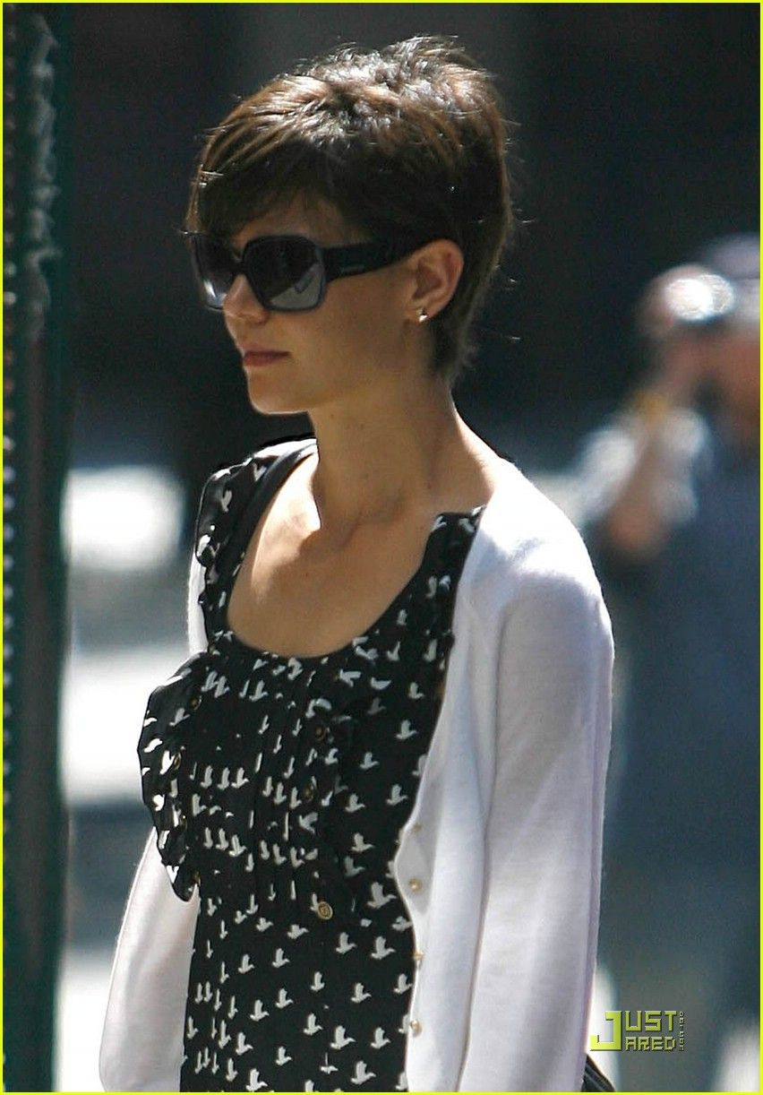 katie holmes pixie..i..love it!! | hair 'do! | pinterest | katie