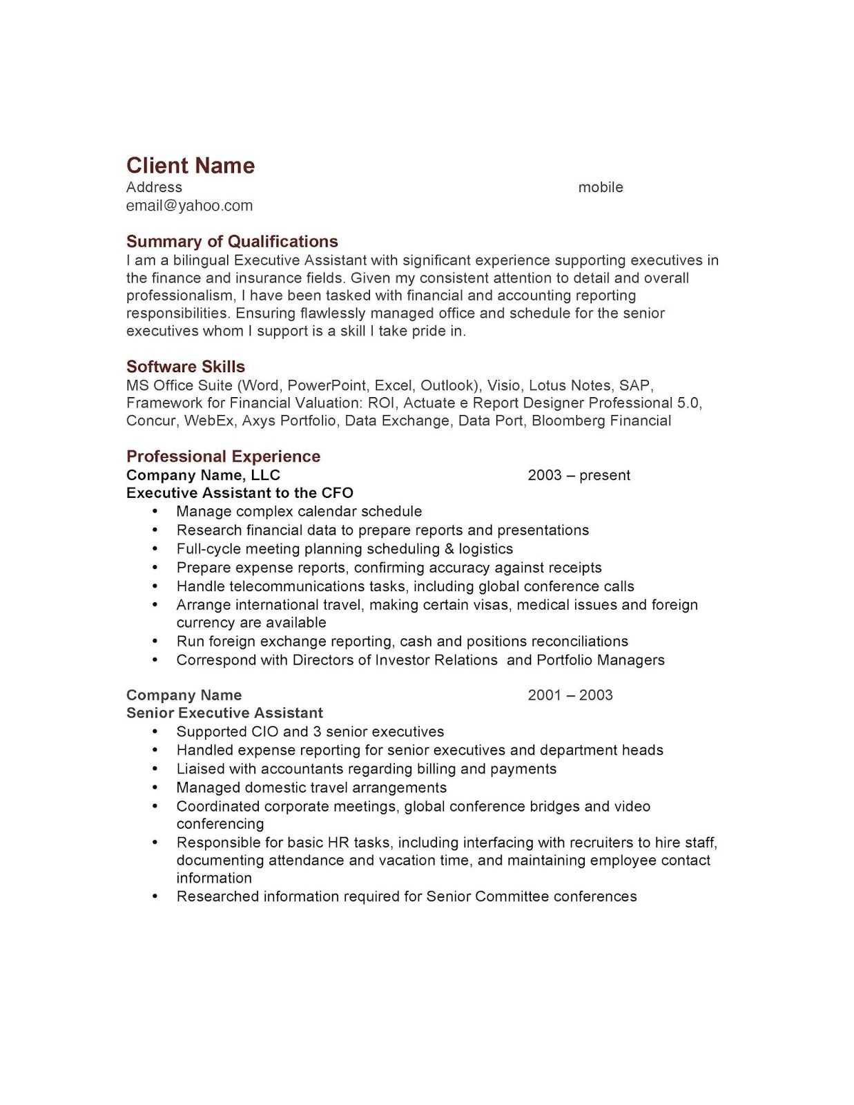 What Is Resume Means
