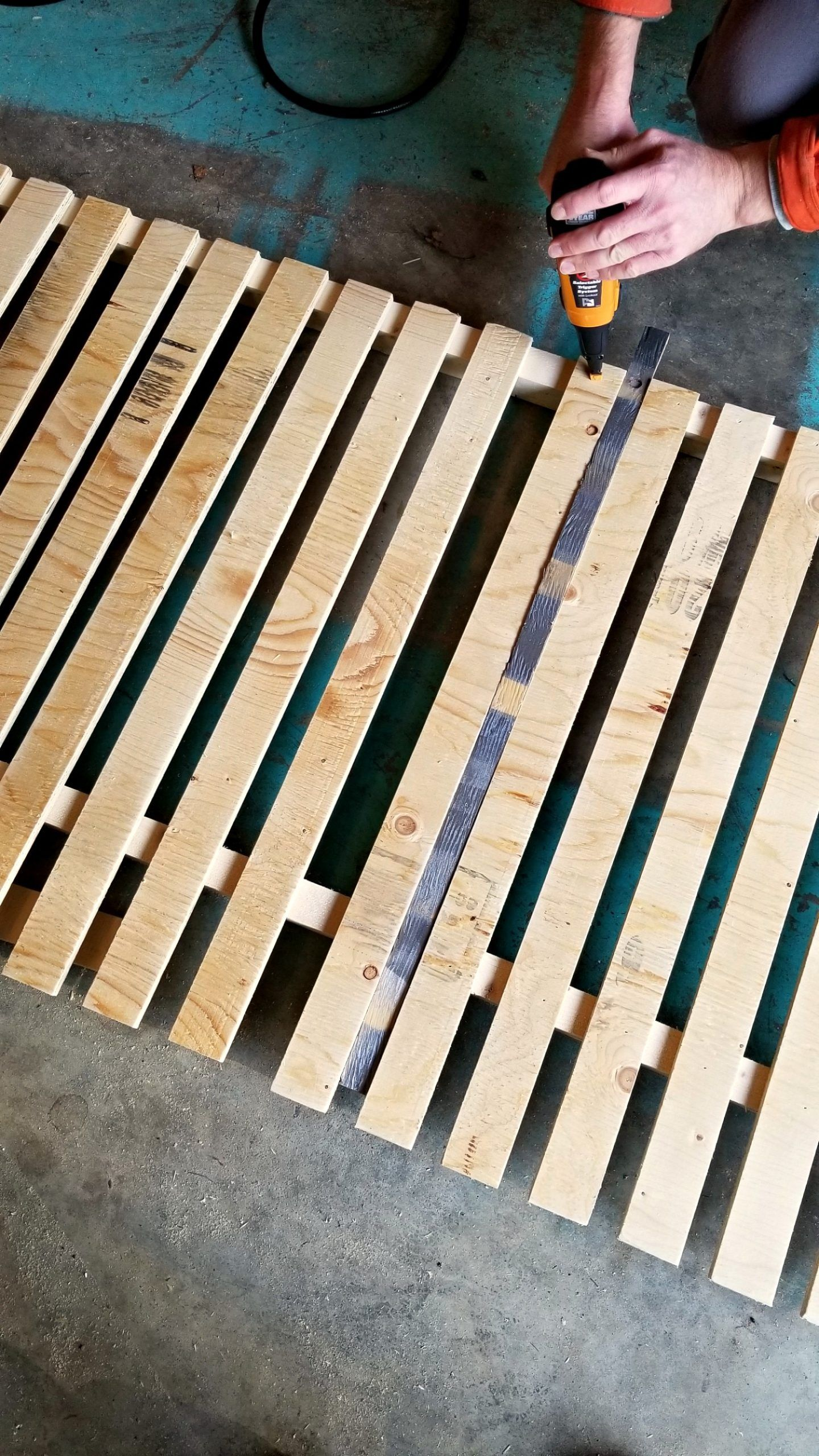 Modern Diy Vertical Slatted Deck Skirting Sponsored By The Home Depot Canada Dans Le Lakehouse In 2020 Deck Skirting Diy Deck Cheap Deck Ideas