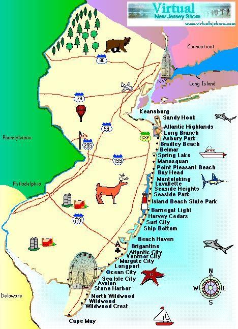 nj shore map citylondonhotel