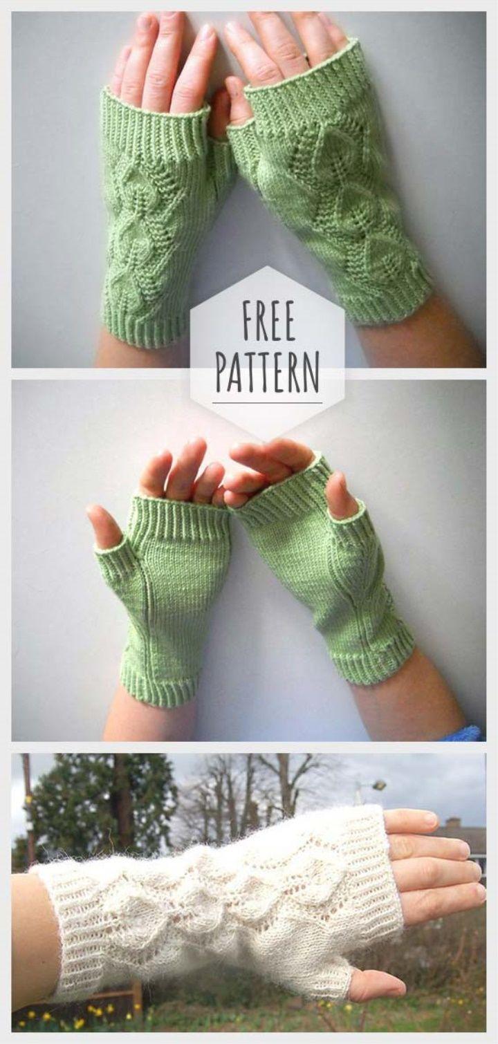 Photo of Knitting Glove Free Pattern