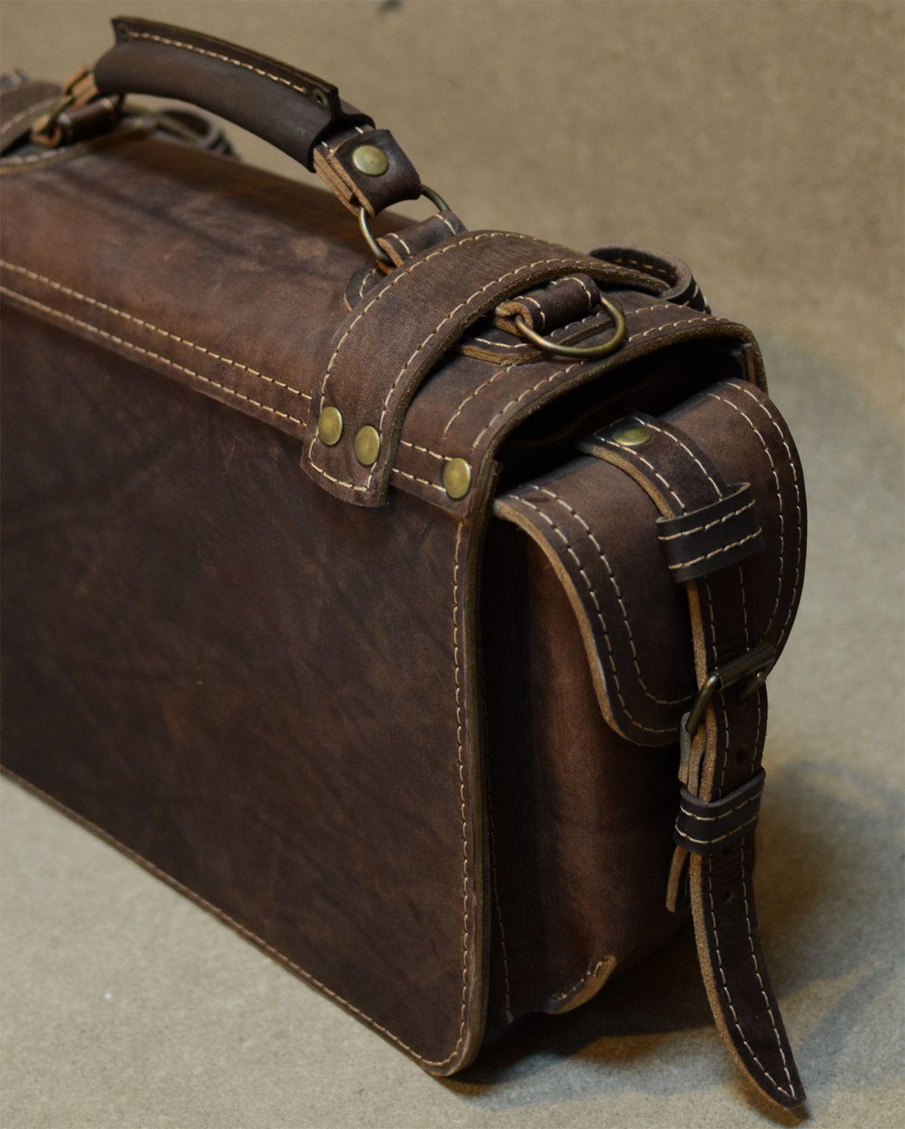3dfcb47d473e Мужской портфель из кожи своими руками Кожаные Сумки, Рабочие Сумки,  Кожаный Портфель, Работа