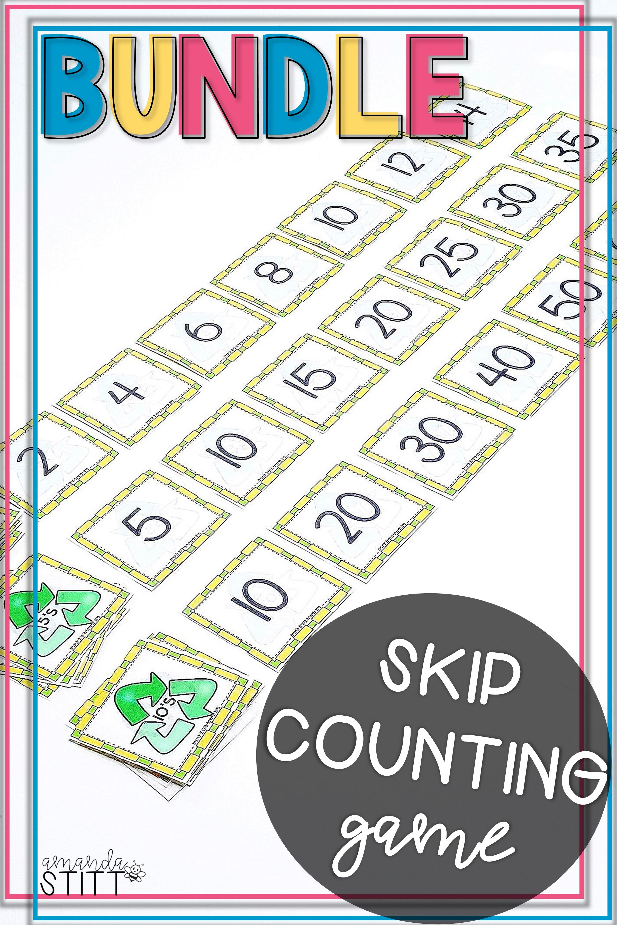 Skip Counting By 2s 5s And 10s Games