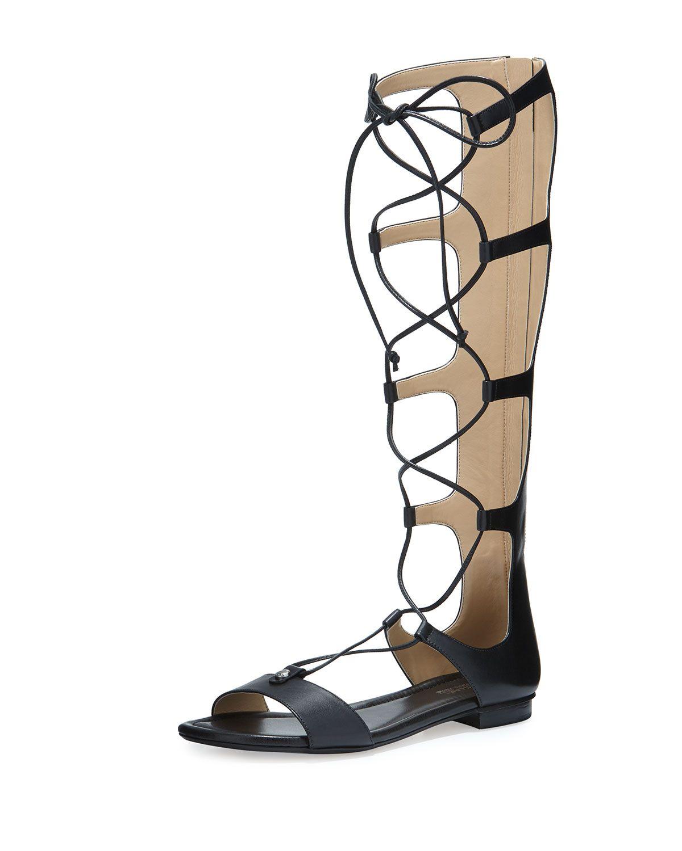 d2e6a1b14aa MICHAEL Michael Kors Sofia Tall Flat Gladiator Sandal