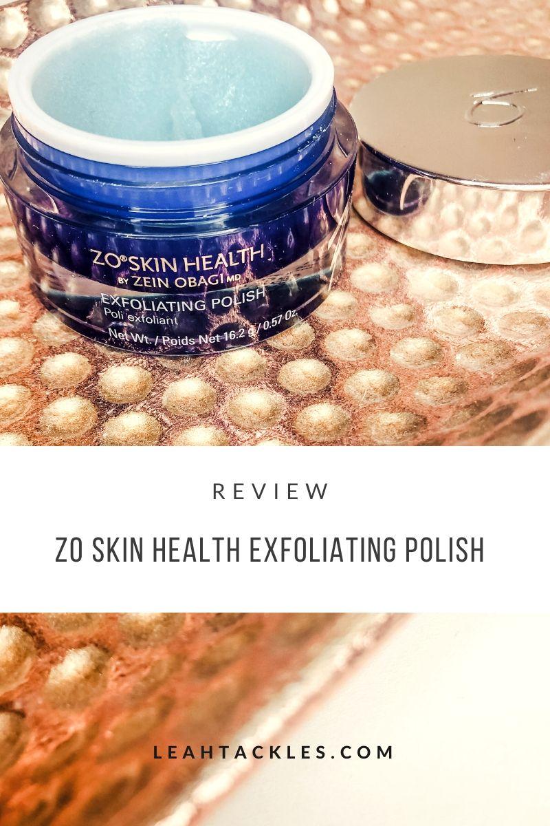 Zo Skin Health Exfoliating Polish Review in 2020 Skin