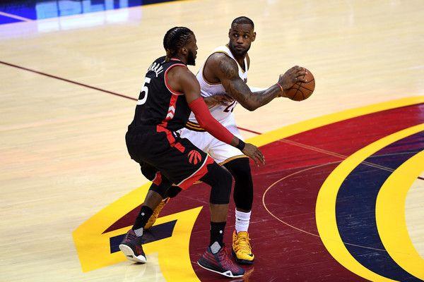 95f1abaa5f70 LeBron James Photos Photos - Toronto Raptors v Cleveland Cavaliers - Game  One - Zimbio