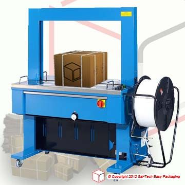 Step Tp 6000ce1 Strapping Machine Manual Adjustment Of Mechanical Tensioning System That Can Do A High Tensioning Without Electrical Connection Machine Crates