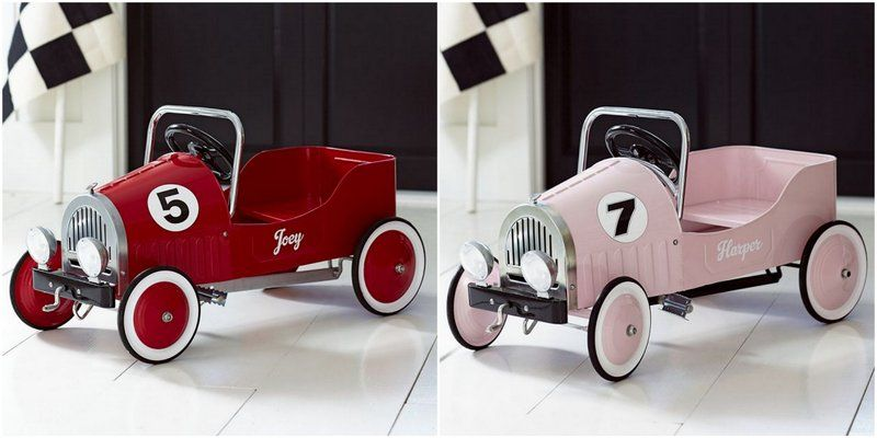 Pottery Barn Kids Giveaway Retro Pedal Cars The