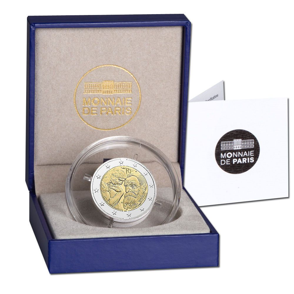 Seltene 2 Euro Münzen An Einer Prägung Erkennen Sie Ob Ihre 50