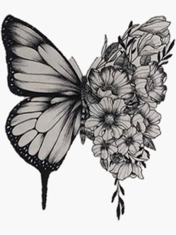 'Butterfly Tattoo Shawn Mendes' Sticker by merchal