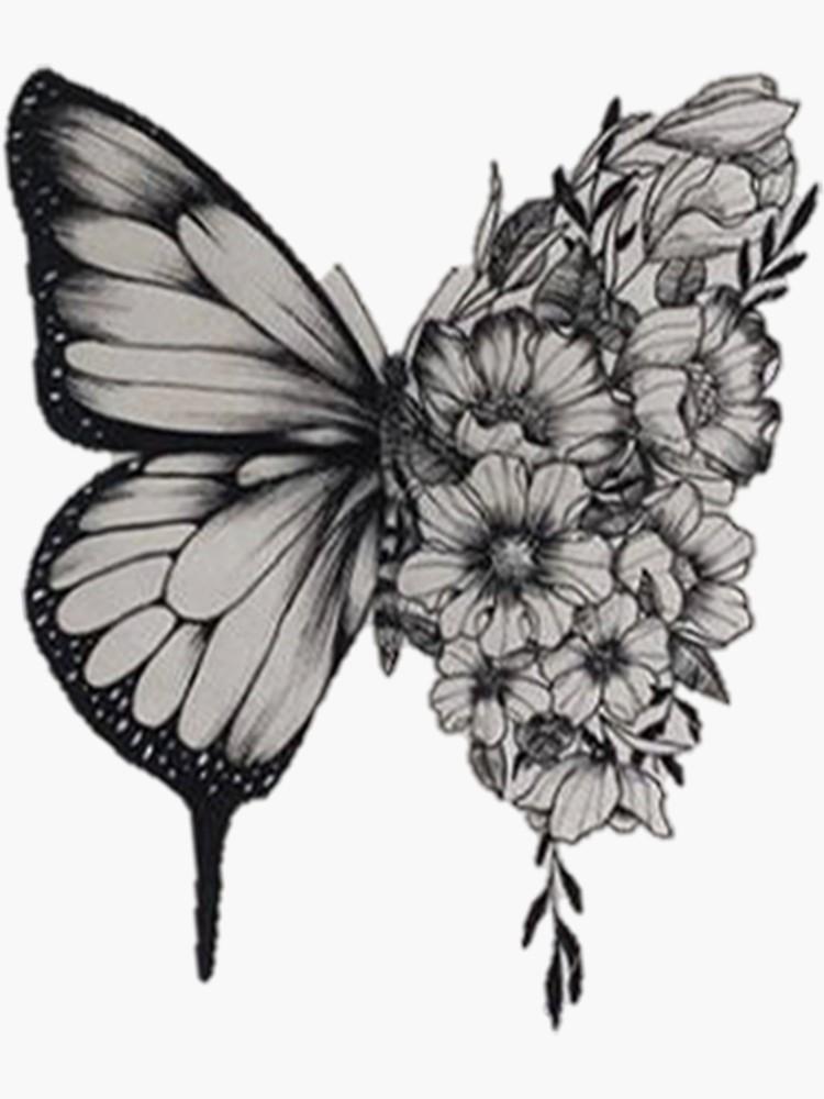 Butterfly Tattoo Shawn Mendes Sticker Tattoos