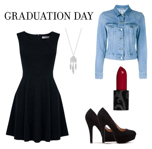 """""""Senza titolo #3"""" by beccw ❤ liked on Polyvore featuring Oasis, Acne Studios, Lucky Brand and graduationdaydress"""