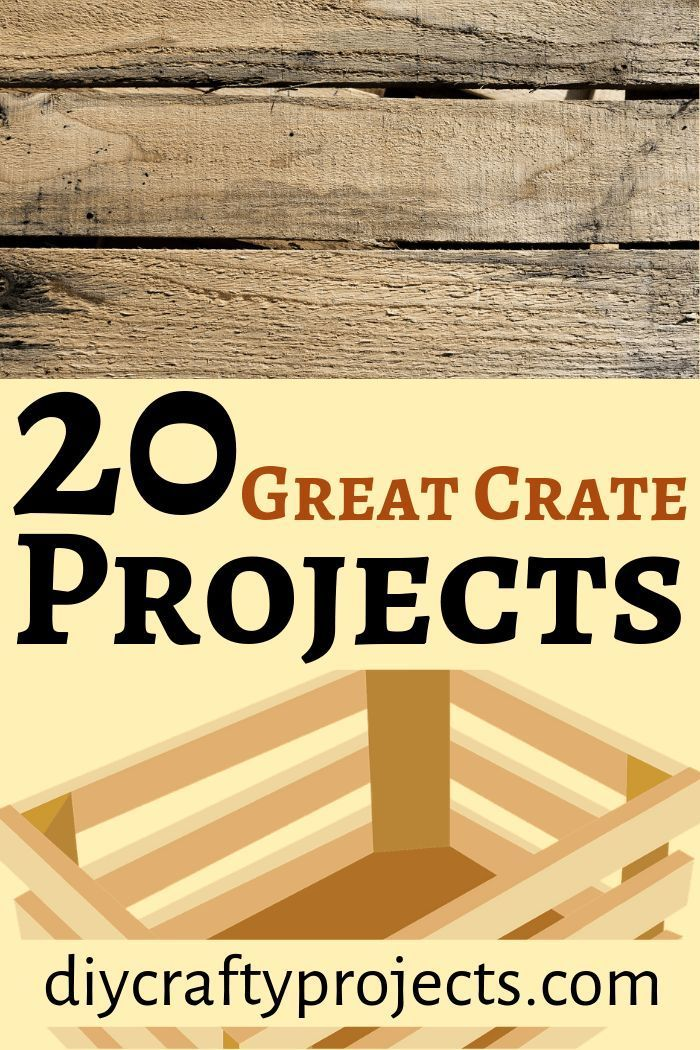 Photo of 20 großartige Kistenprojekte – DIY Crafty Projects