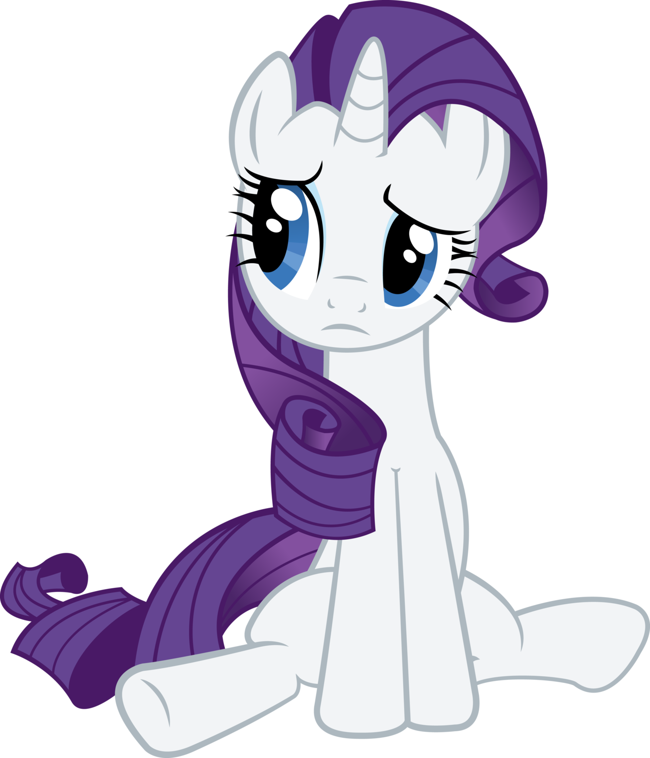 Rarity Getting Rejected By Redpandapony On Deviantart My