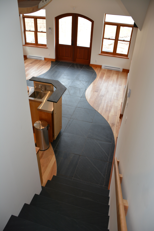 Natural Birch Logs End Hardwood Flooring Birch floors