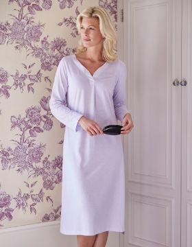 uk availability 12ec4 23ba4 lottie long sleeve nightdress lond slate ... 9c1f507e4