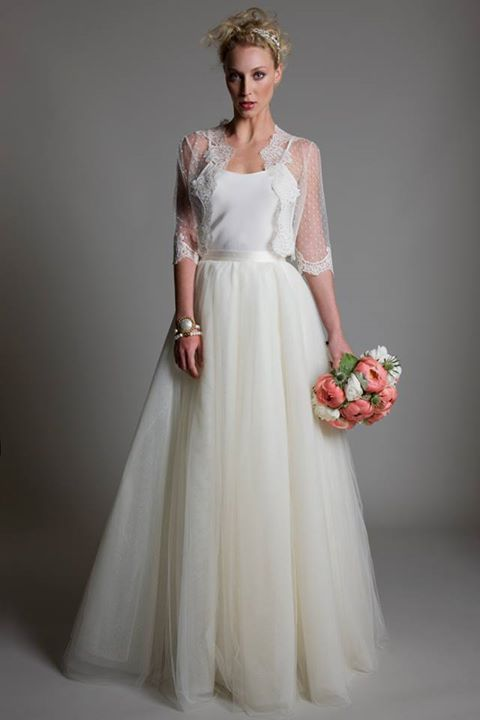 Awesome Wedding Dresses #wedding dress with lace jacket... Wedding ideas for brides, grooms, parents & p... Check more at https://24store.tk/fashion/wedding-dresses-wedding-dress-with-lace-jacket-wedding-ideas-for-brides-grooms-parents-p/