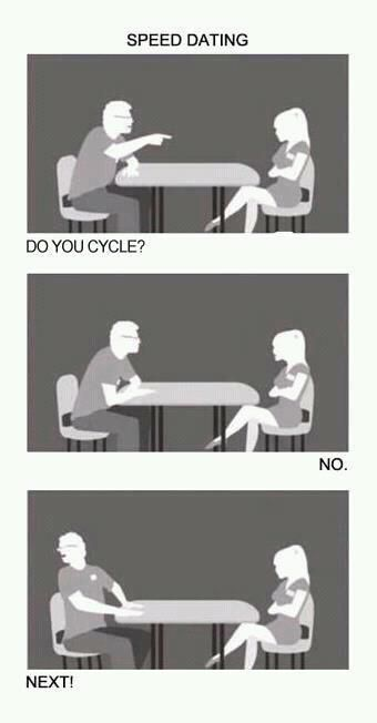 cycling speed dating