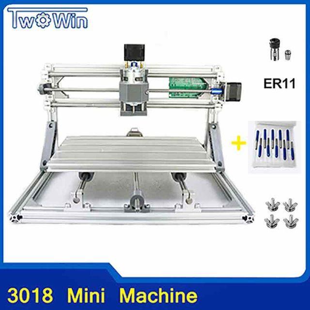 3 Axe CNC 3018 Router Engraving Kit graveur bois DIY Milling machine fraiseuse