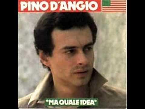 Ma Quale Idea Pino D Angio Música Disco Cantores Musica