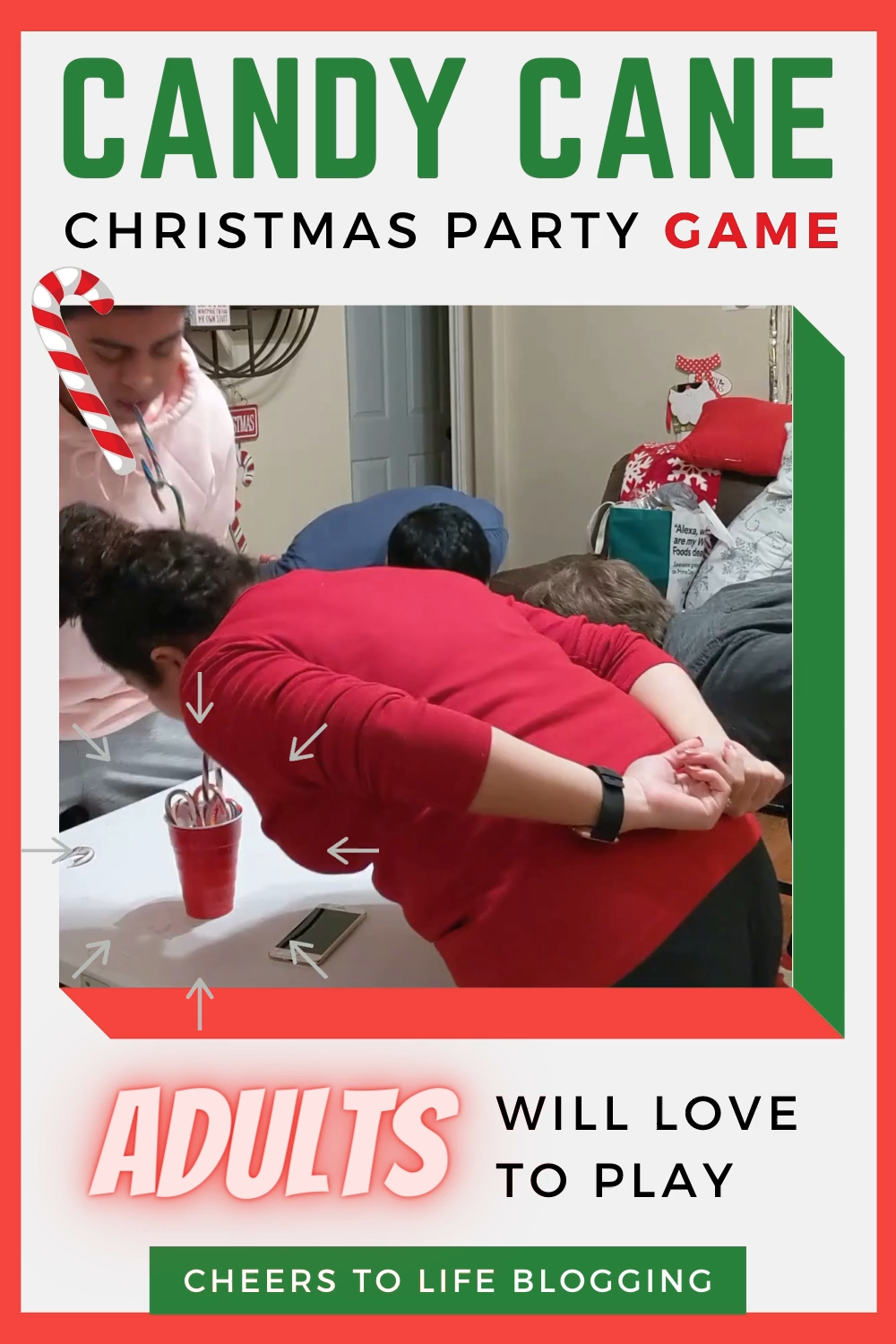 Hosting Christmas Party Games Isn't Stressful, It'