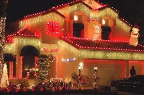Chandler Street S Light Displays Lift Holiday Spirits Holiday Lights Display Holiday Lights Light Display