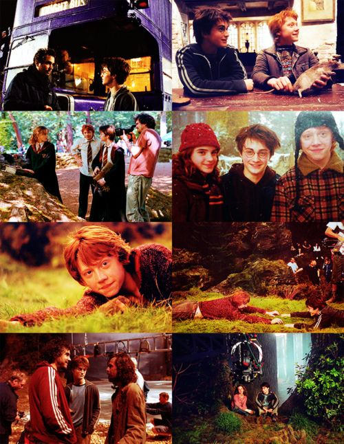 Behind The Scenes Of Harry Potter And The Prisoner Of Azkaban Harry James Potter Harry Potter Films First Harry Potter