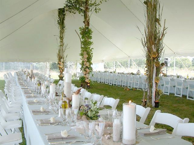 Tent Pole Decorations