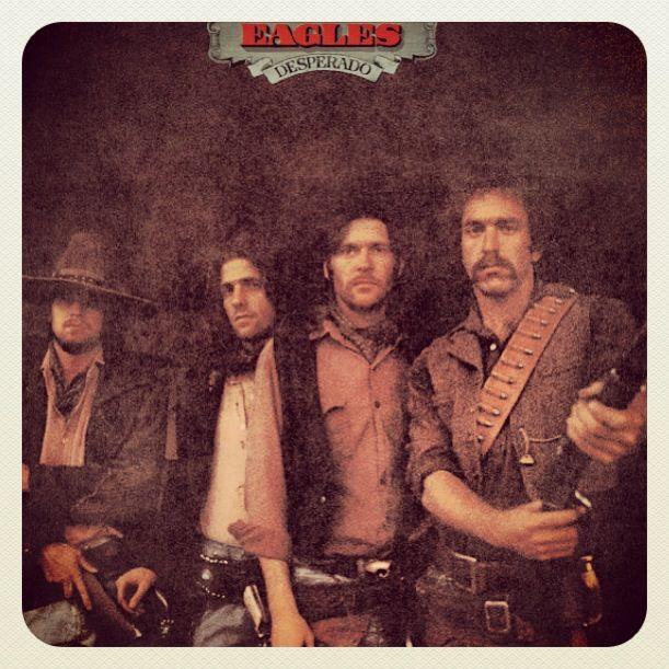 Eagles old west concept album Desperado