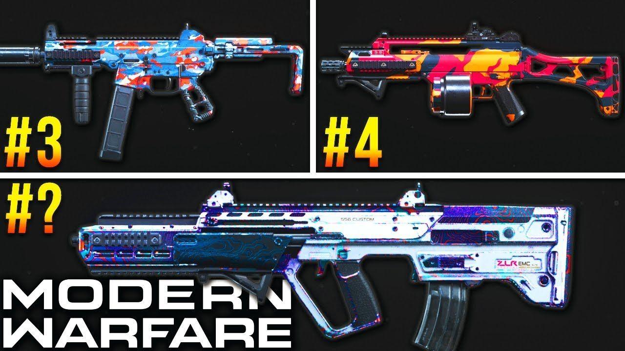 Modern Warfare RANKING Every DLC Weapon (Best Class