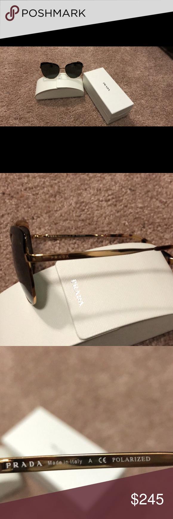 772d2bddd326 ... cheapest prada cat eye sunglasses polarized beautiful in like new  condition prada accessories sunglasses 916ec 88fa4