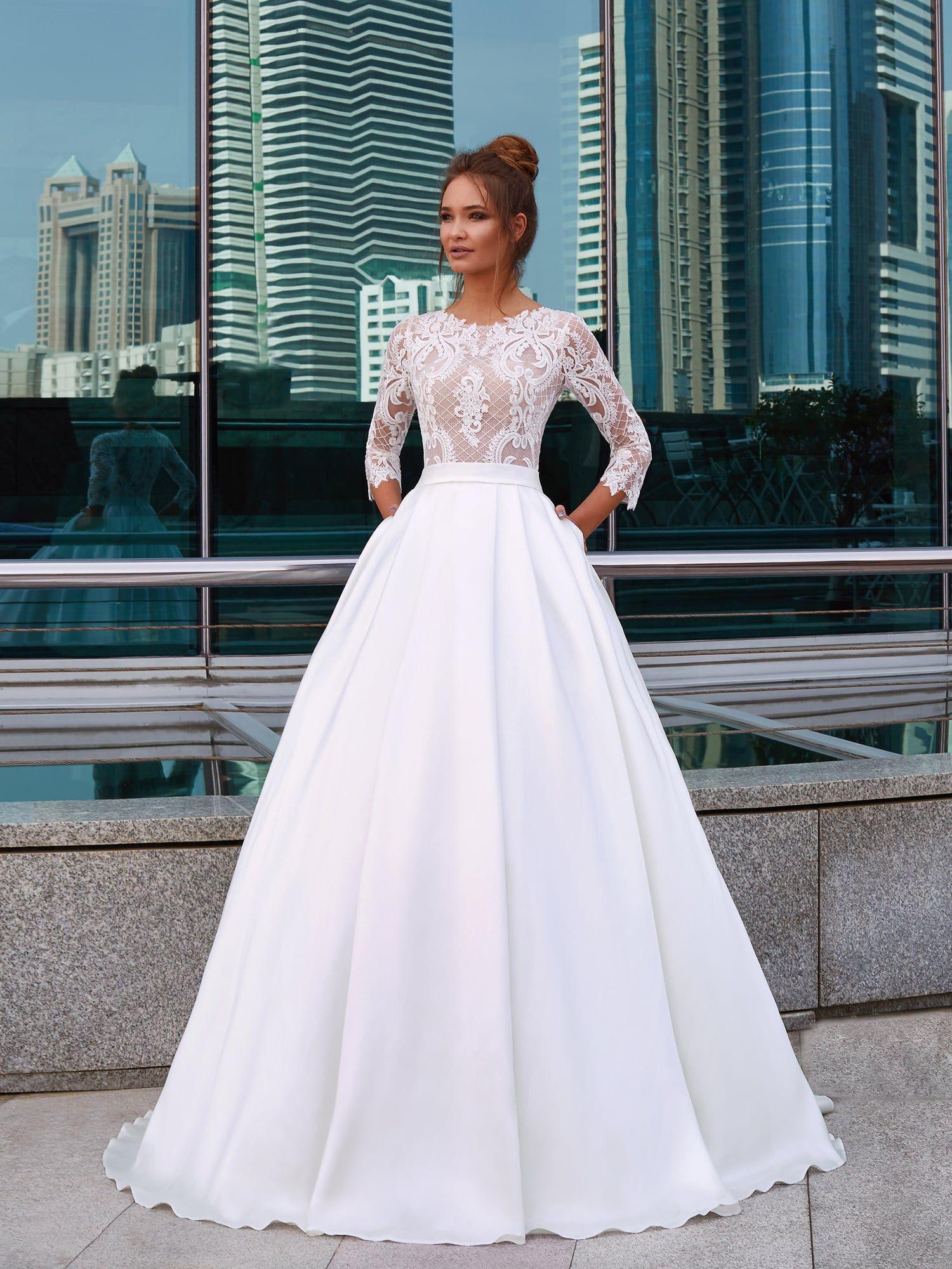 7796958addf7 PASSETTO wedding dress by LANESTA