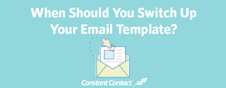 When Should You Switch Up Your Email Template - Social media marketing email templates