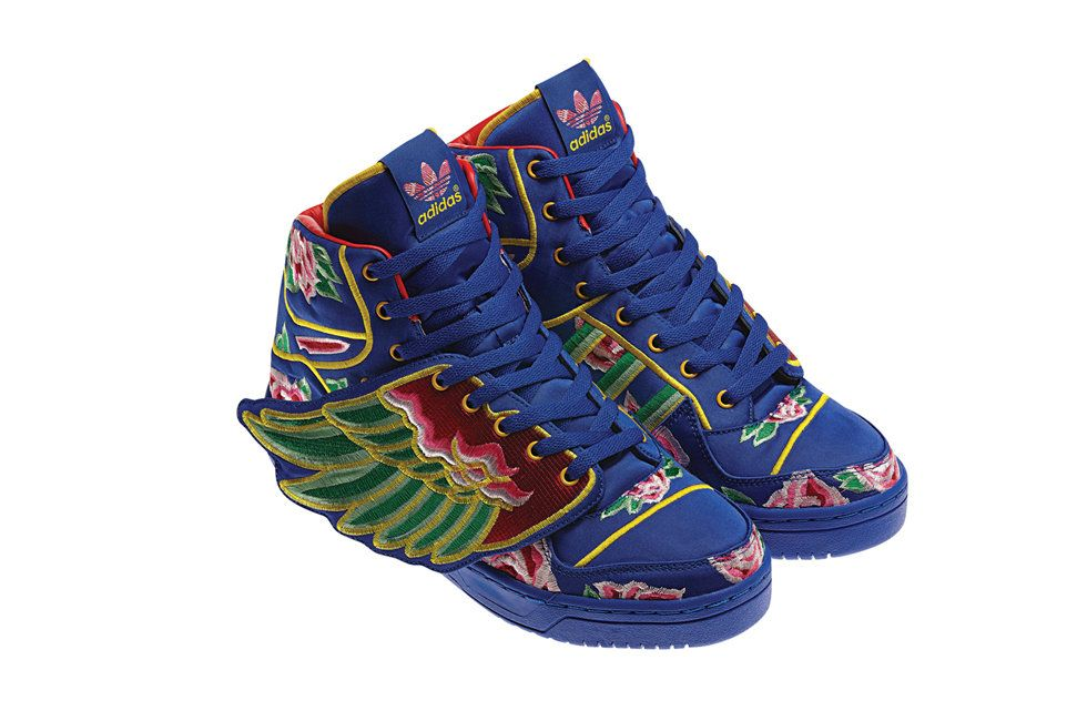 promo code 0697d c06f6  JeremyScott gives you wings. Jeremy Scott for  Adidas Originals x Eason  Chan JS Wings CNY