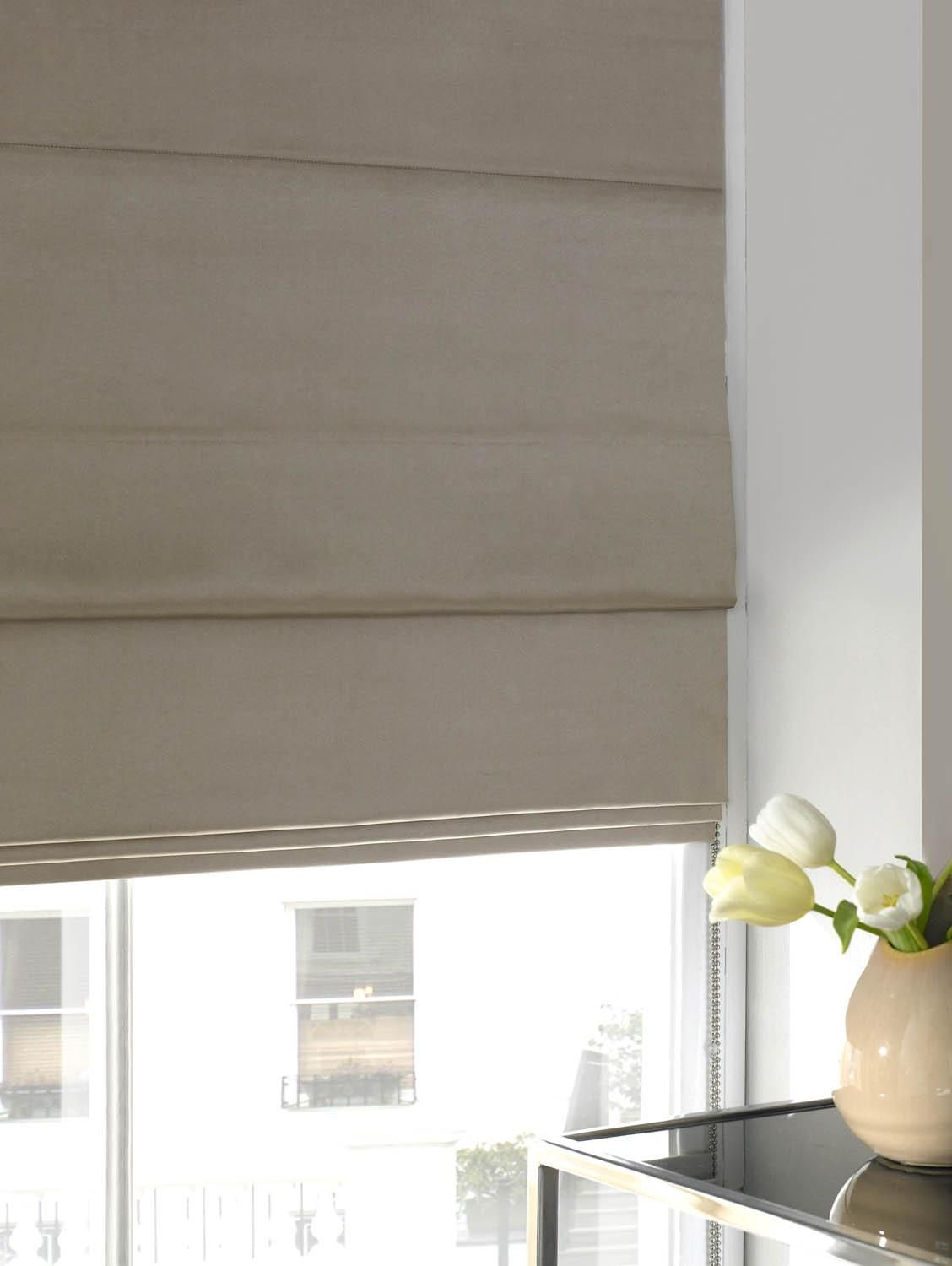 Velvet Blinds | Curtains with blinds, Made to measure ...