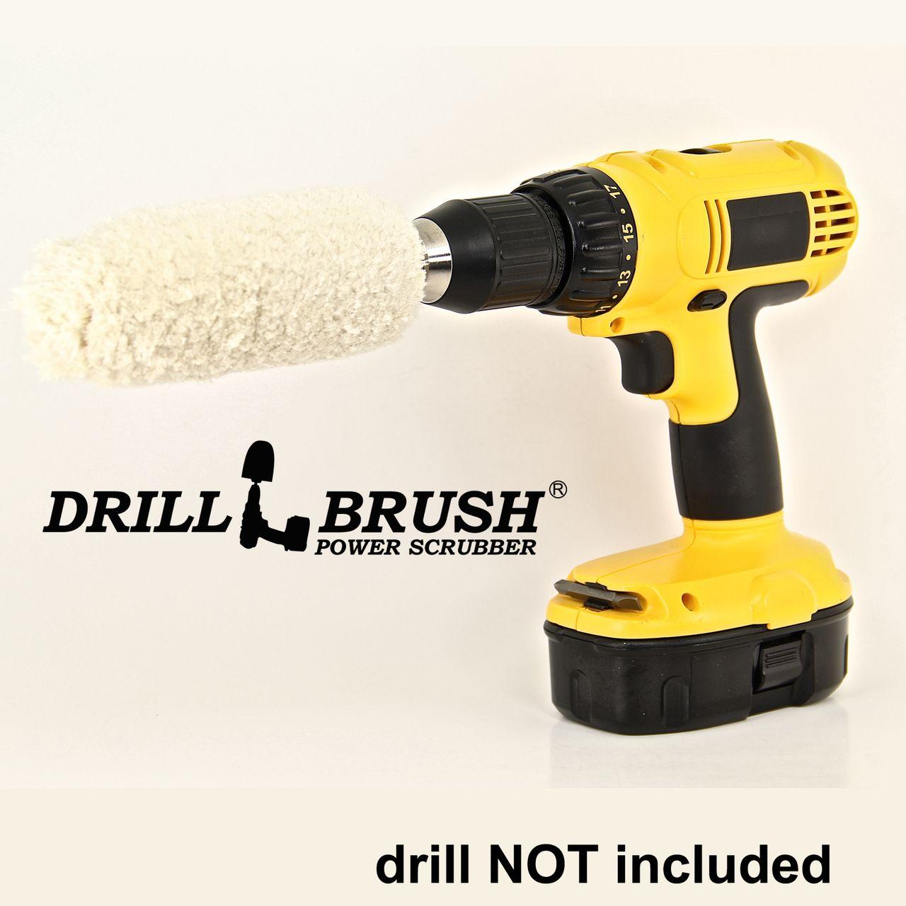 Soft Cotton Buffing Drill Brush - Super soft cotton