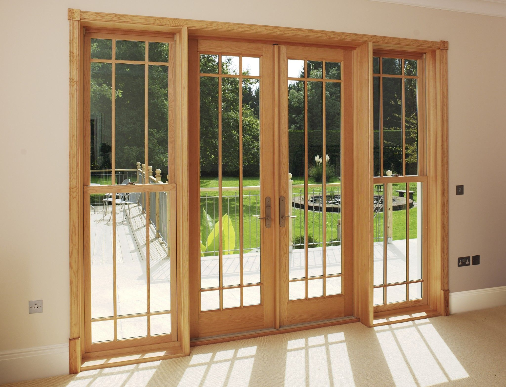 Marvin S Ultimate Timber French Doors Are Built To Complement Any French Doors Wood French Doors Wooden French Doors