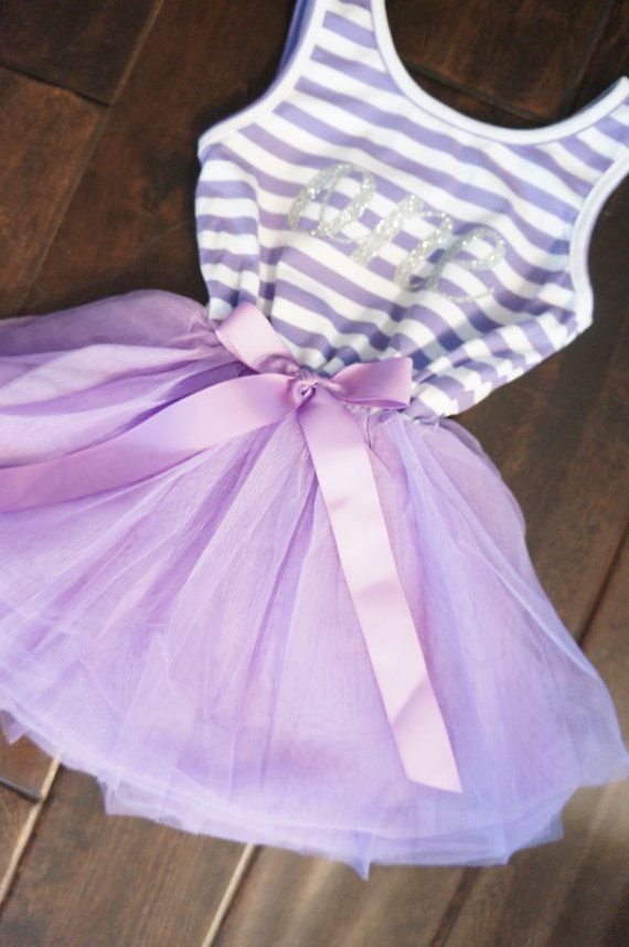 BIRTHDAY PRINCESS PARTY TUTU Purple Sleevless Gold Crown Number Tutu Dress Gift