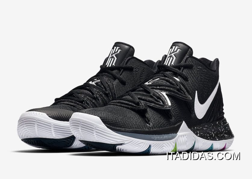 "cb0215bf6961 2019 的 Where To Buy Nike Kyrie 5 ""Black Magic"" Multi-Color 主题 ..."