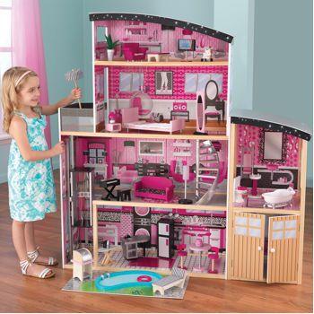 Product Casa Da Barbie Casa De Bonecas Em Miniatura Casa De Bonecas De Madeira