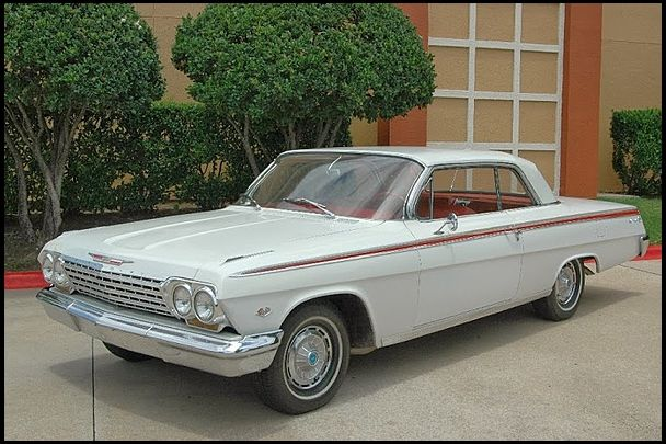 1962 Chevrolet Impala This Is The Car Henk Had When We Started