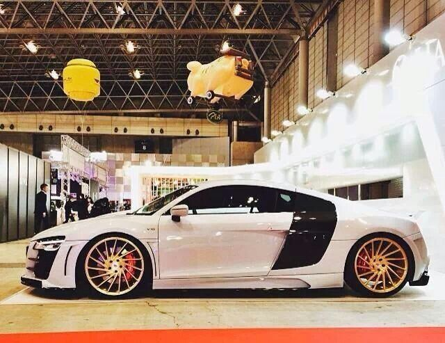 Audi R8 | Vossen Wheels... | Cars and Motorcycles | Car ...