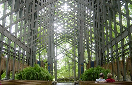 THORNCROWN CHAPEL   A Paragon Of Environmental Design, Thorncrown Chapel,  Arkansas, Eureka Springs