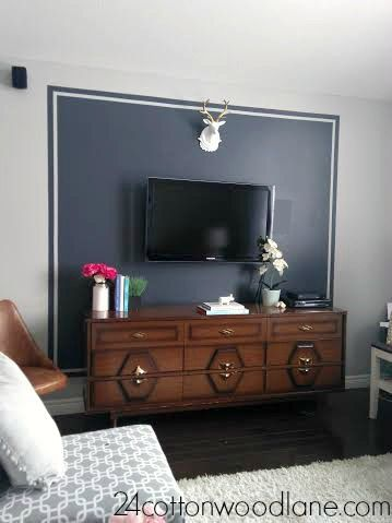 Behind Tv Wall Decor