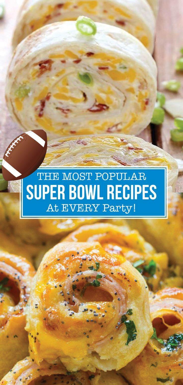 Super Bowl Rezepte, die Sie lieben werden