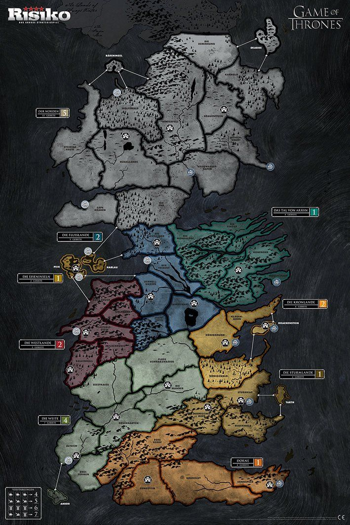 Risiko Game Of Thrones Gefecht Edition Game Of Thrones